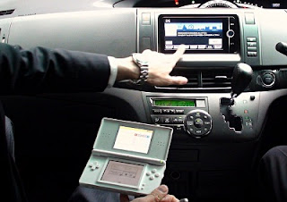 Toyota&#039;s new navigational system uses a Nintendo DS as remote control