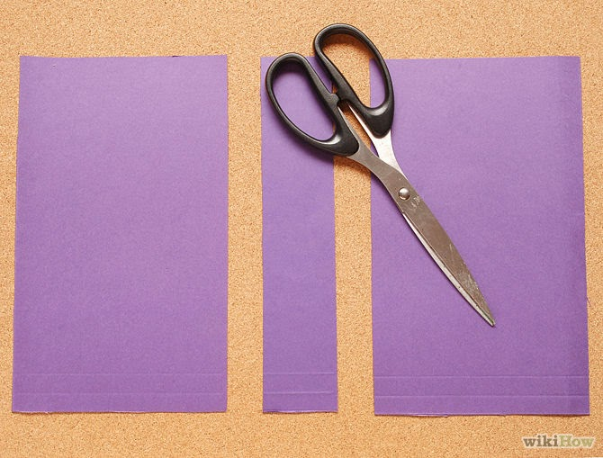 How to Cover a Book With a Paper Folder step 1