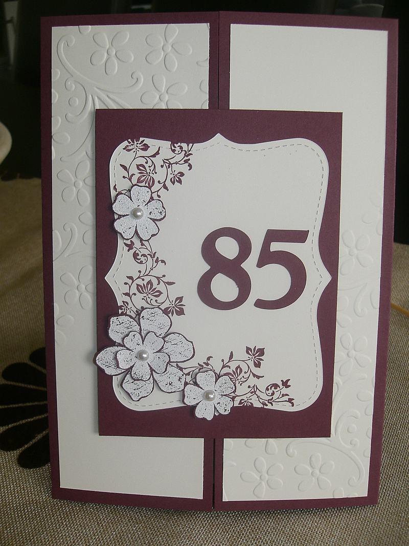 Karte zum 85 geburtstag - Geschenke zum 85 geburtstag ...