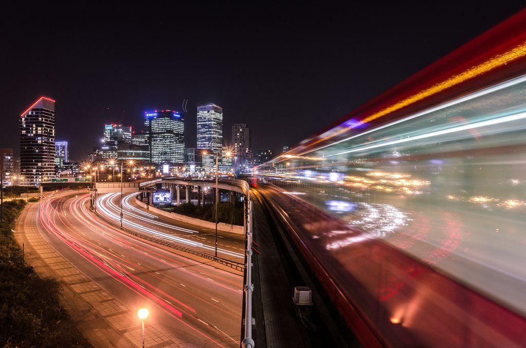 DLR (docklands light reflected)