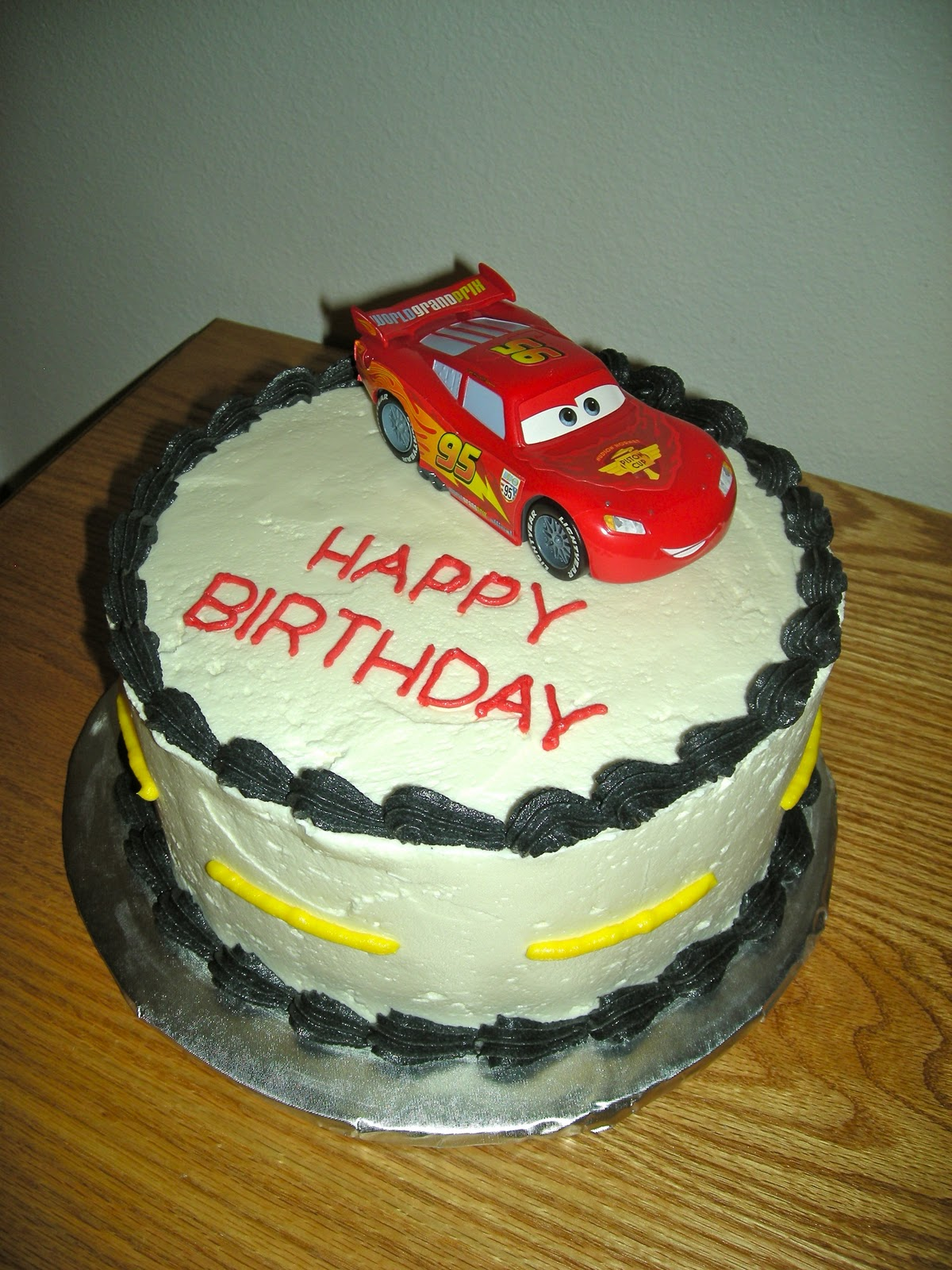 Easy Lightning Mcqueen Birthday Cake Image Inspiration of Cake and