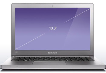 new Lenovo IdeaPad U300e