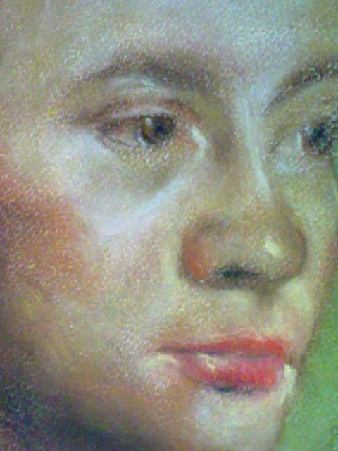 clases de retrato pastel