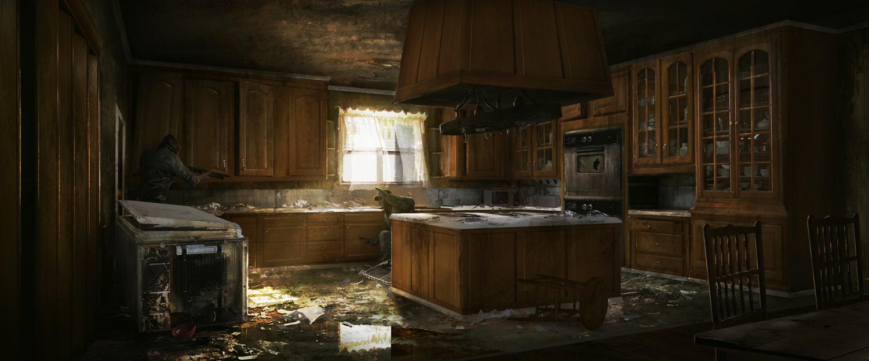 Dead Island Hotel Kitchen