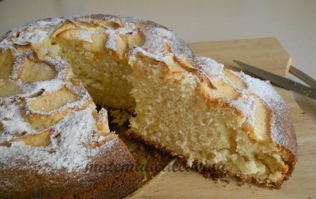 torta di mele senza burro e ricetta della crema inglese