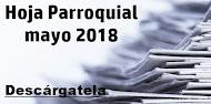 Hoja Parroquial mayo 2018