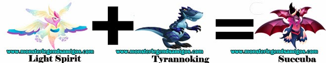 como obtener el monstruo succuba en monster legends formula 1