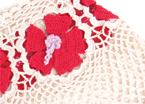 Hibiscus Wrap - Crochet Today