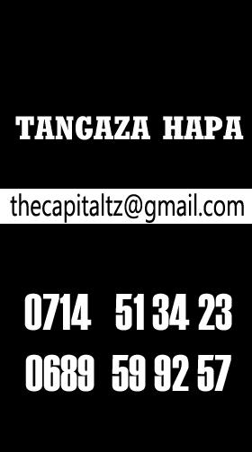TANGAZA HAPA (CALL 0714513423)