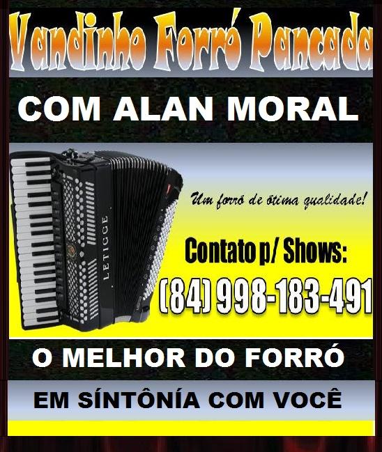 VANDÍNHO FORRÓ PANCADA O MELHOR DO FORRÓ