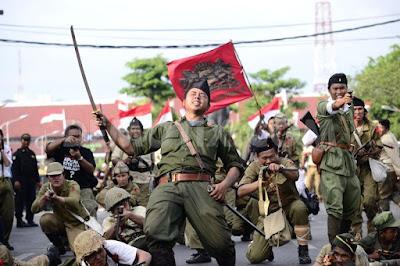 Parade Surabaya Juang 2015