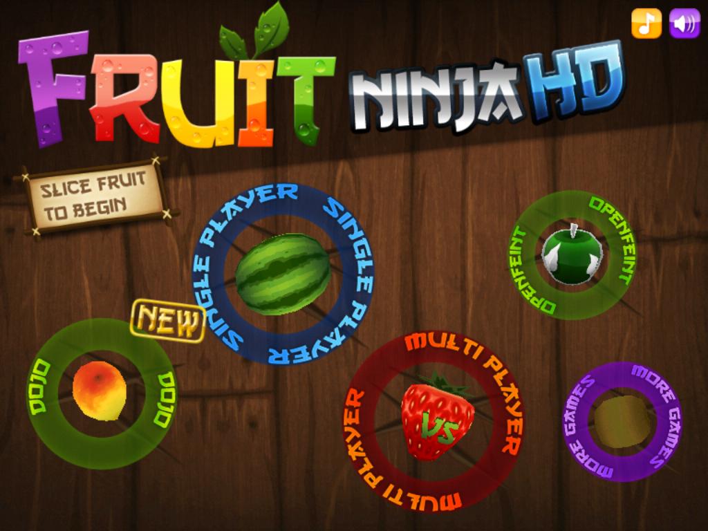 Fruit ninja 3d -