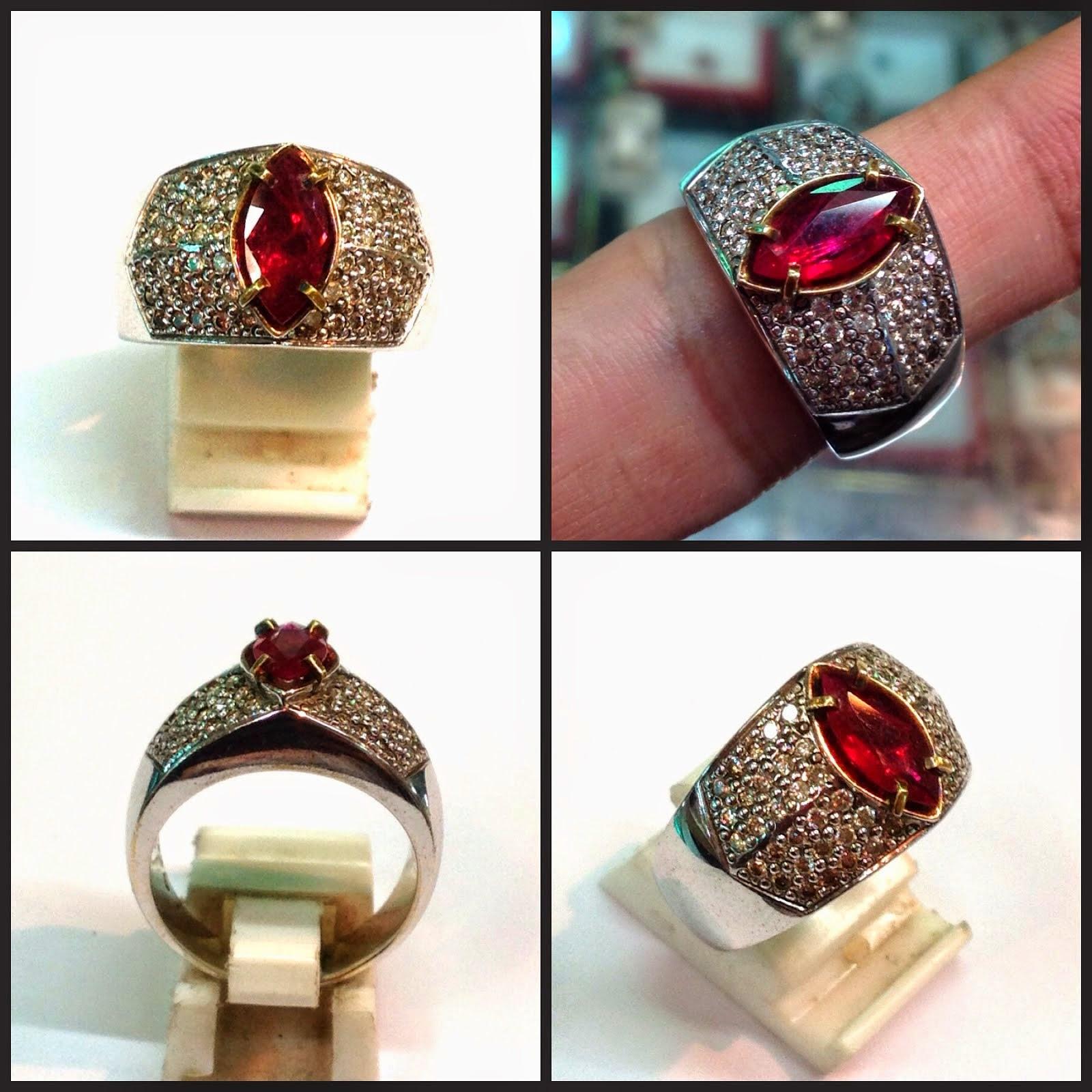 Cincin ruby (KODE: TB0122) (Rp.11.000.000) nett