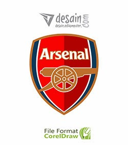 Download Logo Club Arsenal format coreldraw