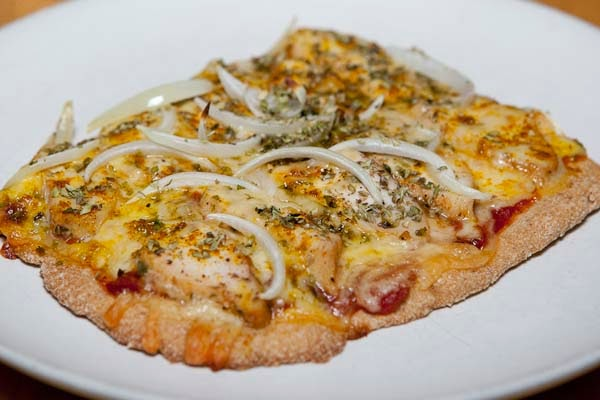 tomatsås pizza lchf