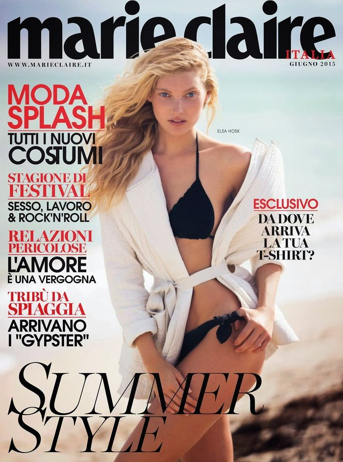 Model, Basketball Player @ Elsa Hosk - Marie Claire Italy, June 2015
