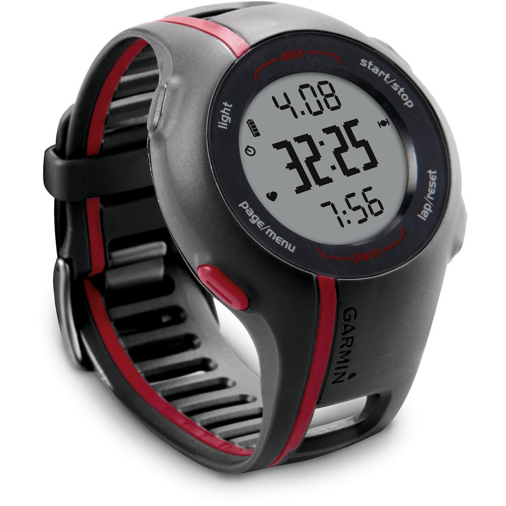 garmin forerunner 110 watch with gps and heart rate monitor review sporting goods. Black Bedroom Furniture Sets. Home Design Ideas