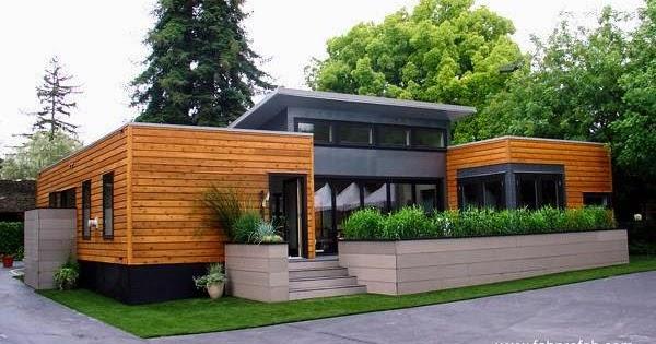 Arquitectura de casas casa californiana prefabricada - Casa ecologica prefabricada ...