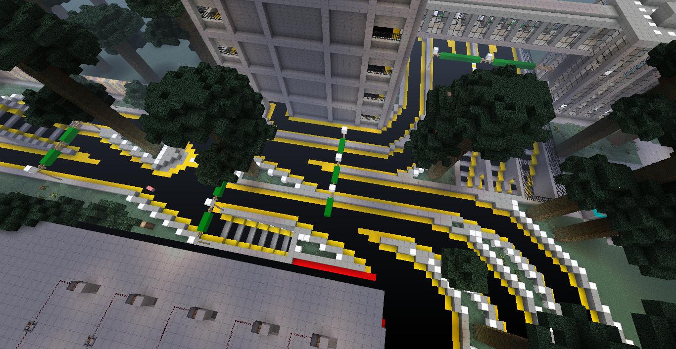 Modern Minecraft Office Building
