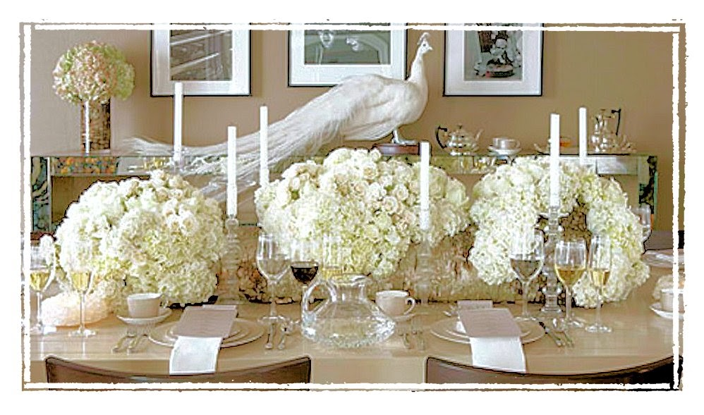 Shannon 39 S Shanonigins White Christmas Table Scapes