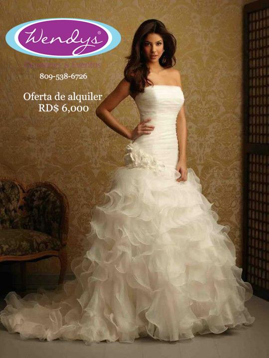 Precios de vestidos de novia en republica dominicana