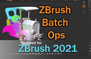 ZBrush Batch Ops