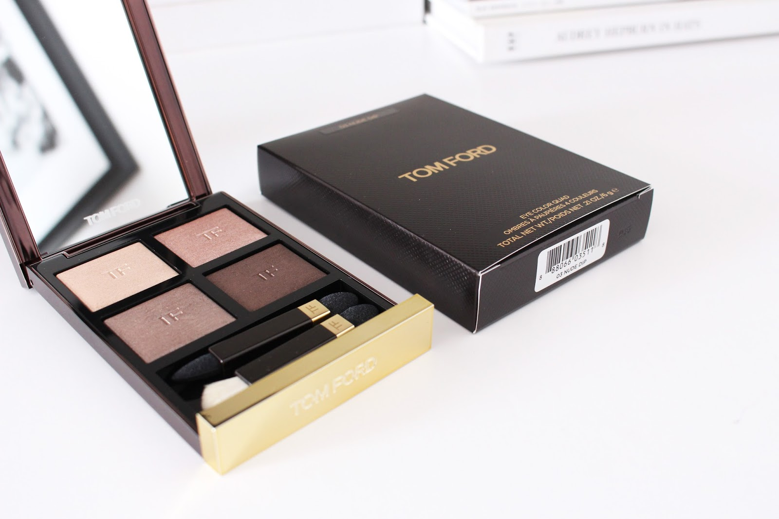 Tom Ford Nude Dip Eyeshadow quad Permanent Line