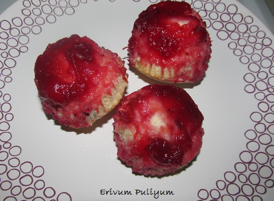 Cranberry Upside Down Muffins (Thanksgiving Delight)
