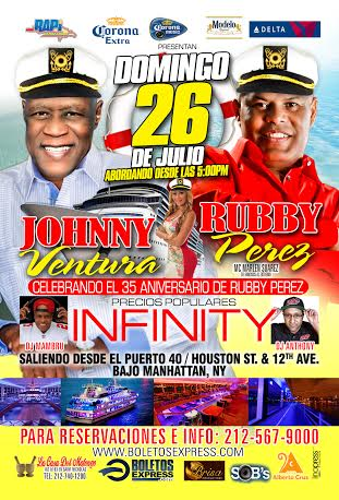 Fiesta con Johnny & Rubby