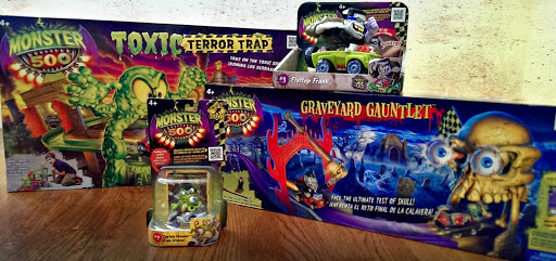 just in time for halloween toys r us has released monster 500 a line of monster themed racing characters vehicles and play sets - Halloween Toys R Us