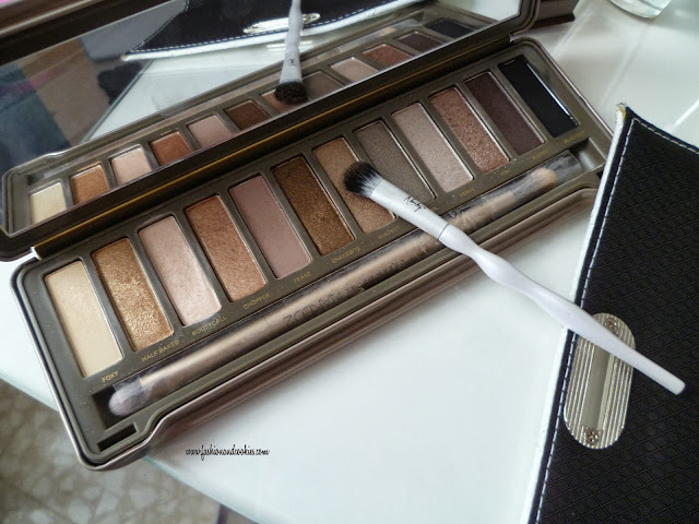 Nanshy Makeup brush set, set pennelli Nanshy, Naked 2, Fashion and Cookies, fashion blog