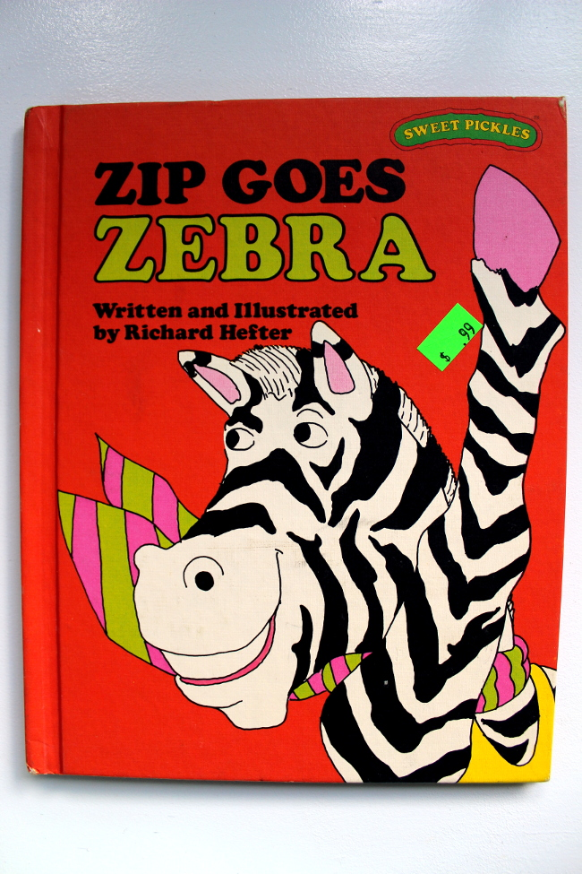 Zip Goes Zebra Book