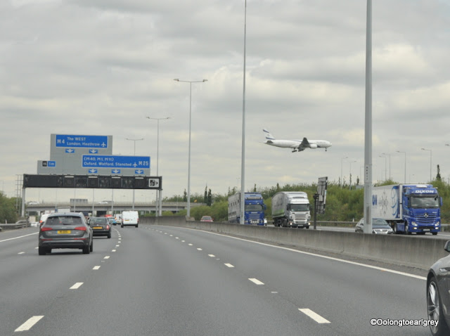 Heathrow, M25 England