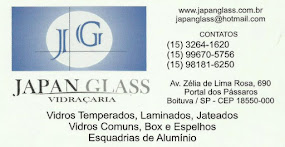 VIDRAÇARIA JAPAN GLASS