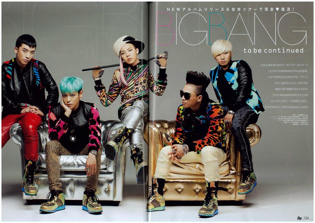 Big Bang Ray Magazine Scans