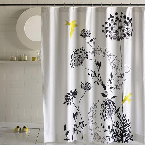rideau moderne de douche