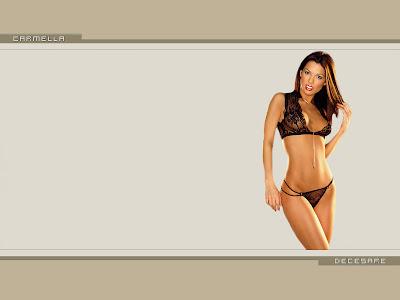 Carmella Decesare  Brown widescreens wallpaper