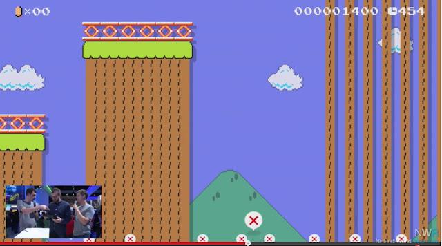 Saiba mais detalhes (com imagens) sobre o compartilhamento online de estágios em Super Mario Maker 8