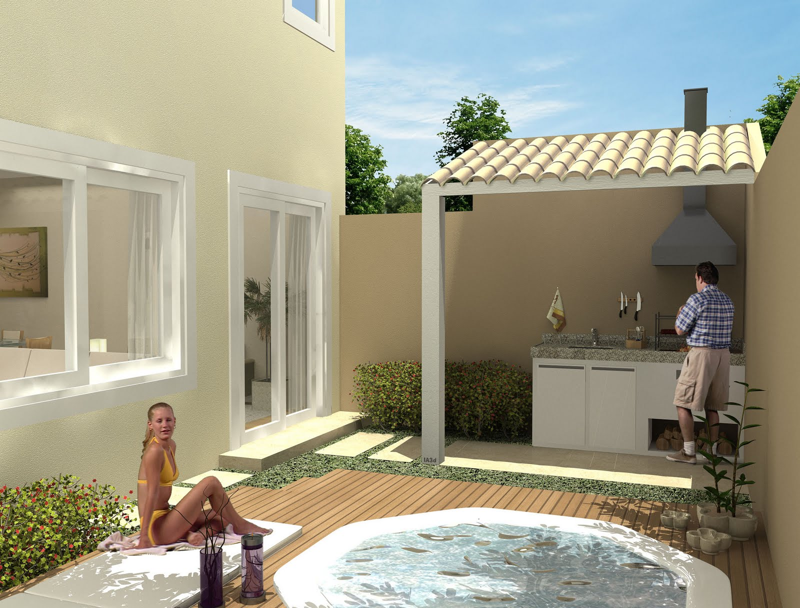leroy merlin:nós dois quintal jardim vertical dentro de casa leroy  #2A74A1 1600 1216
