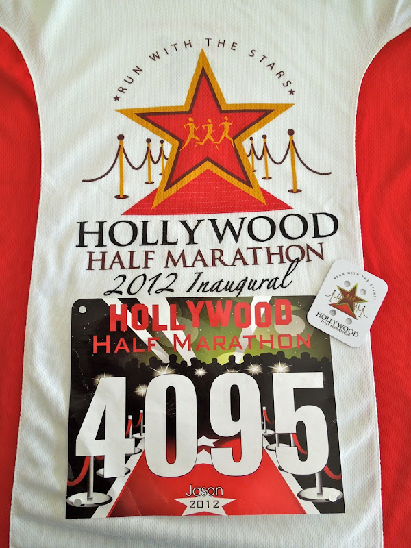 Hollywood Half shirt and bib