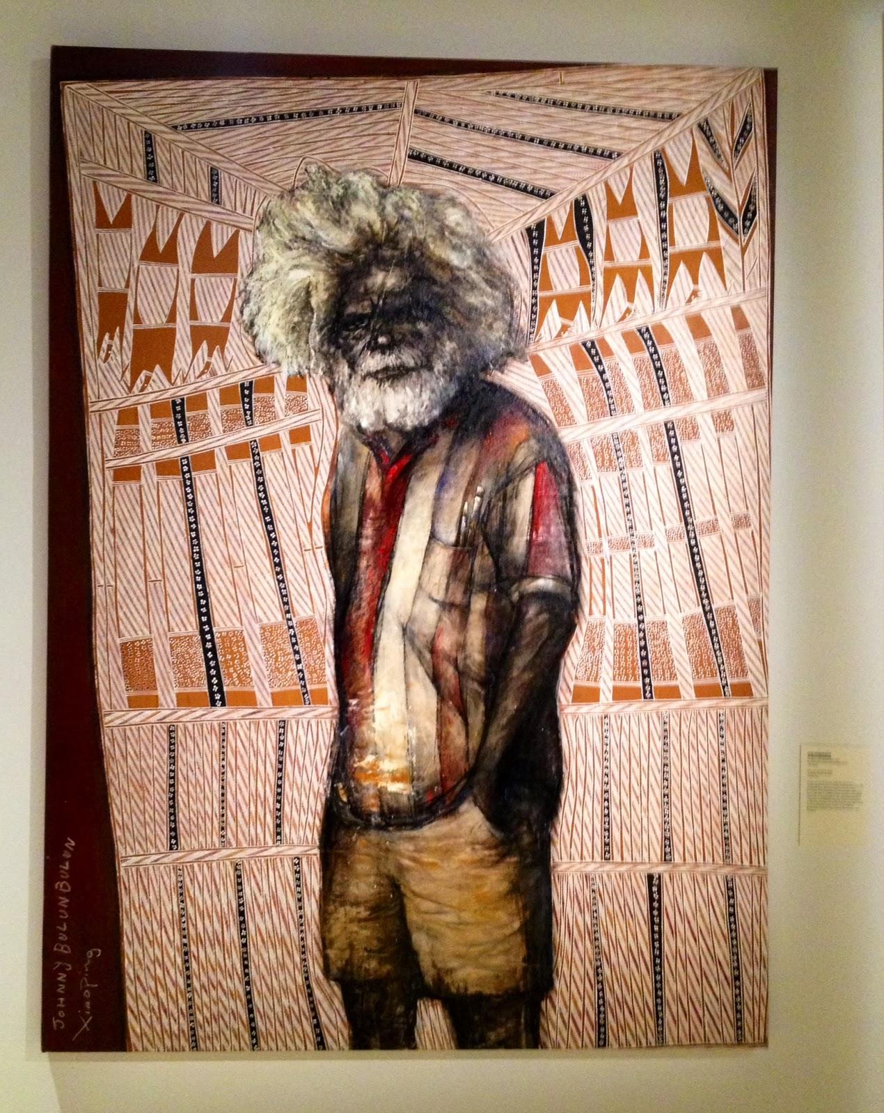 Sur les pas d 39 une collection d 39 art aborig ne vernissage for Peinture resinance