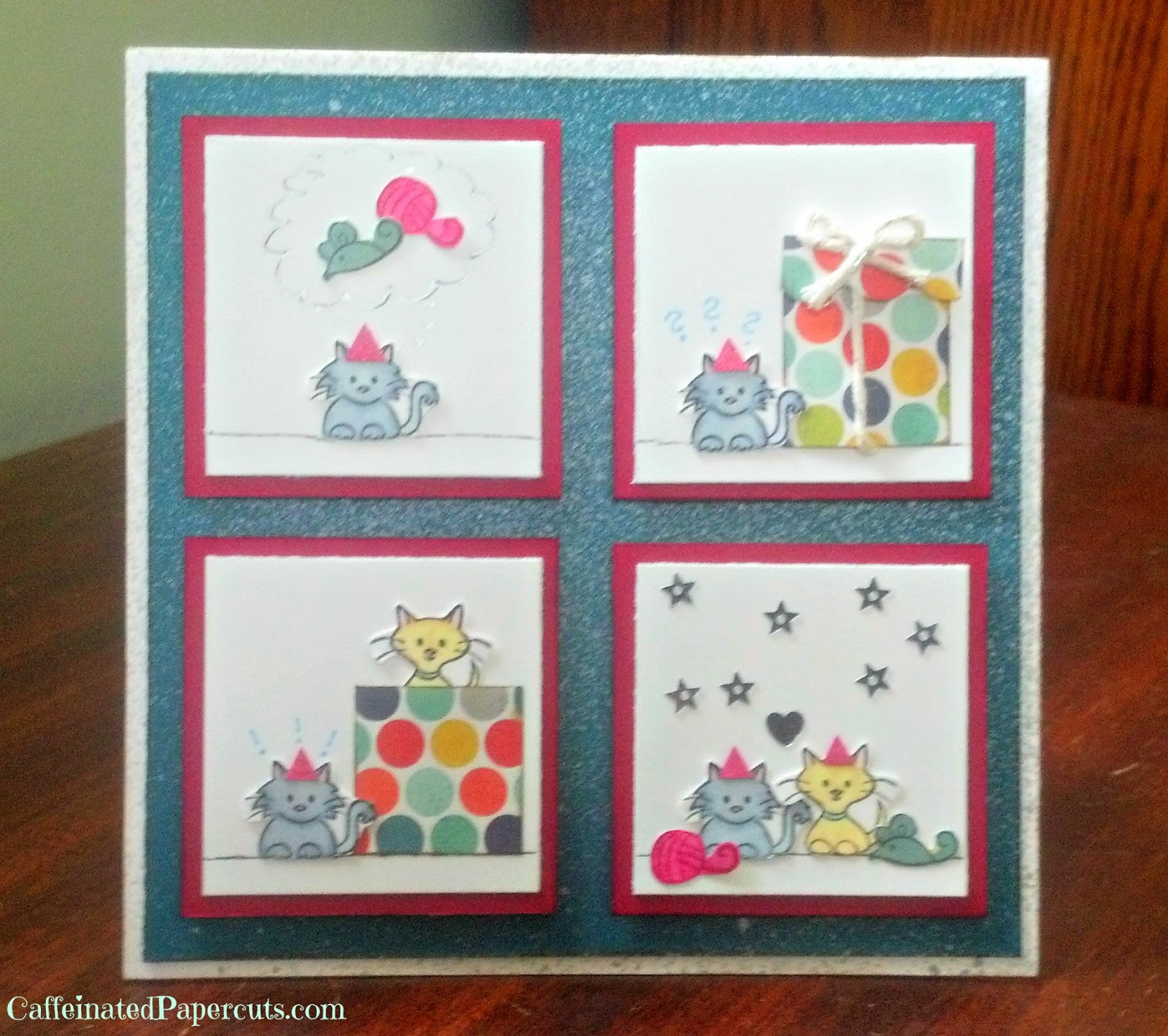 denami kitty birthday card