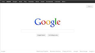 Il sito di Google