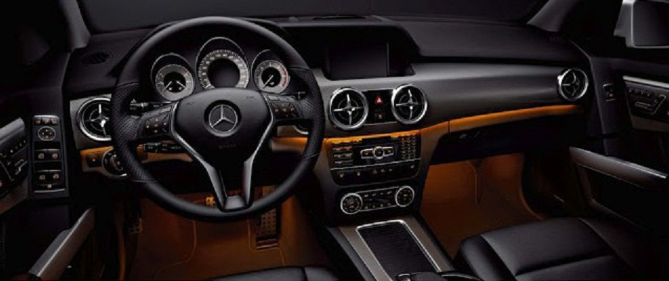 ... And The Expensive Sporty Nappa Leather Steering Wheel Found In More  Expensive Vehicles Like The E Class Coupe Have All Been Made Features Of  The New GLK