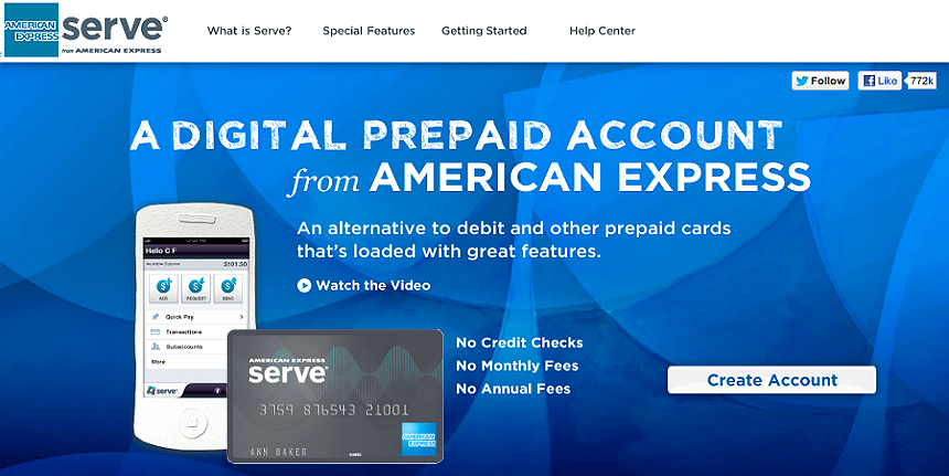 The American Express Serve prepaid card offers 1% instant cash back on all online and offline purchases as well as many other AMEX exclusive discounts and benefits, for a low monthly fee that beats the competition. #IC (ad) #ServeSomeGood