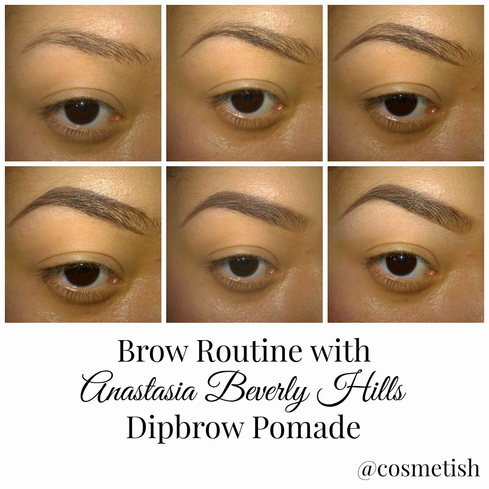 anastasia beverly hills dipbrow tutorial