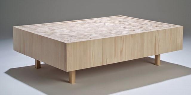 7 originales mesas de madera espacios en madera - Mesas originales ...