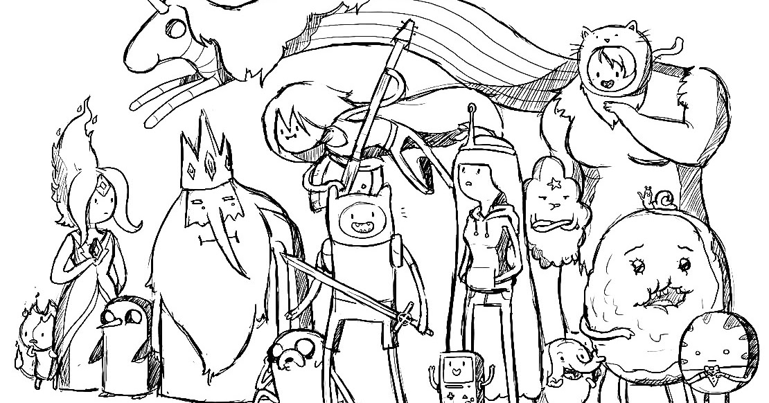 Adventure time coloring pages | Coloring Pages