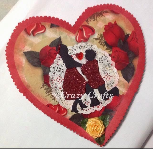 complete decorated heart