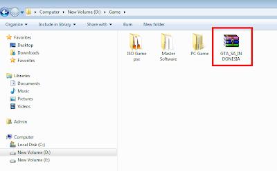 Seperti inilah tampilan file yang telah dirubah menjadi file ISO.